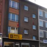 Häuser von Nazis mit Farbe beworfen