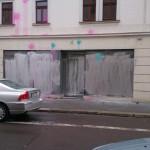 "Thor Steinar-Laden ""Oseberg"" mit Farbe angegriffen"