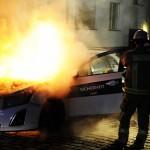 """Zwei Autos der Firma """"Sicherheit Nord"""" abgefackelt"""