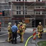 Brandstiftung auf Baustelle in Friedrichshain