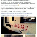 Haus von Neonazi angegriffen