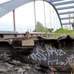 Brandanschlag auf S-Bahn-Kabelschacht
