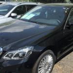 20 Neuwagen bei Mercedes demoliert