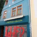 Farbanschlag auf AfD-Wahlkreisbüro