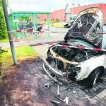 Zwei Autos von JVA-Mitarbeitern abgefackelt