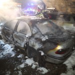 """Drei Autos von """"Pegida""""-Teilnehmern abgebrannt"""