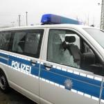 Scheiben an Fahrzeugen der Bundespolizei eingeworfen