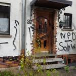 Haus von NPD-Aktivist angegriffen