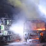 "Angriff auf Gerüstbaufirma ""Systemfeind"""