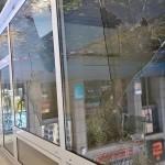 Scheiben von CDU-Büro zerstört