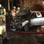 """Auto von """"Pegida""""-Teilnehmerin abgebrannt"""