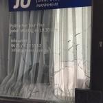 Steine gegen Junge Union-Büro