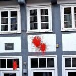 Farbe gegen Grünen-Büro