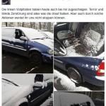 """Auto von """"Pegida Kassel e.V.""""-Vorsitzendem kaputt"""