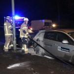 ThyssenKrupp-Auto angezündet