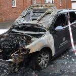 Bundeswehr-Auto abgefackelt