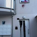 Farbe gegen Wohnhaus von Wiebke Muhsal (AfD)