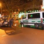 Versuchte Brandstiftung an Polizeiwagen