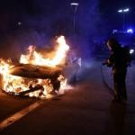 Auto von Nazi abgefackelt