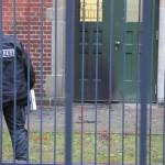 Mollis und Farbe gegen Bundeskriminalamt