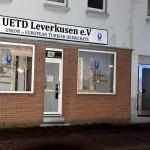 Scheiben bei UETD eingeworfen