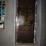 Farbe und Bauschaum gegen AfD-Kandidat