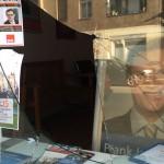 Scheiben bei SPD-Büro eingeworfen