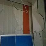 Scheibe bei AfD-Büro eingeworfen