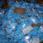 Kistenweise AfD-Flyer geklaut