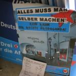 AfD-Wahlplakate gestohlen
