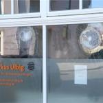 Steine gegen Wahlkreisbüro von Markus Ulbig (CDU)
