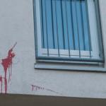 Farbe gegen Wohnhaus von Niels Annen (SPD)