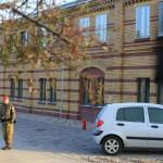 Brandanschlag auf Bundeswehr-Gebäude