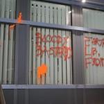 Farbe gegen RWE-Zentrale