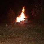 Brandanschläge im Umfeld des Tagebaus Hambach