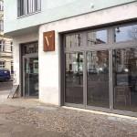 """Kaputte Scheiben für Restaurant """"Vertikal"""""""