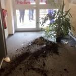 Sachschaden bei CSU-Geschäftsstelle