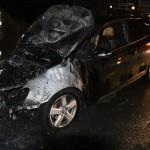 Auto von Lars Steinke (JA) abgefackelt