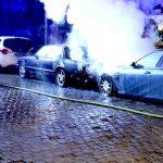 Maserati abgefackelt