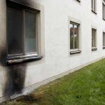 Brandstiftung an Polizeigebäude