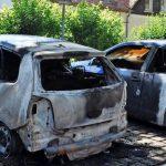 Autos von Stadtverwaltung und Firmenwagen abgefackelt