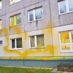 Farbe gegen Polizeiwache