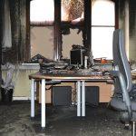Brandstiftung im Haus des Jugendrechts