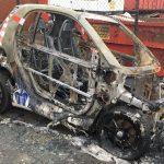 Auto der DPolG abgefackelt