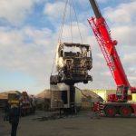 LKW von Betonwerk Thielen abgefackelt