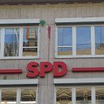 Farbe gegen SPD-Parteizentrale