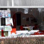 Glasbruch bei SPD-Büro