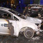 ThyssenKrupp-Auto abgefackelt
