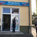 Scheiben an AfD-Büro beschädigt