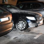 Luxus-Auto angezündet